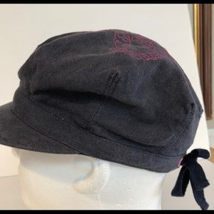 PINK Academy Pink Royalty cabbie hat with back tie